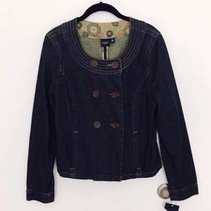 Sonoma double breasted jean jacket